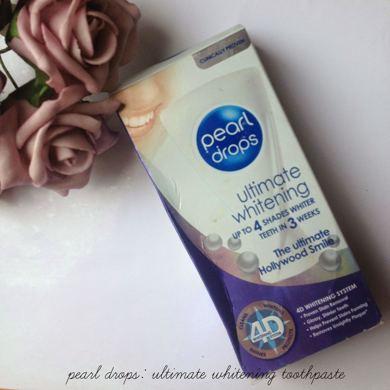 pearl drops: ultimate whitening toothpaste @ http://emandhanxo.blogspot.co.uk