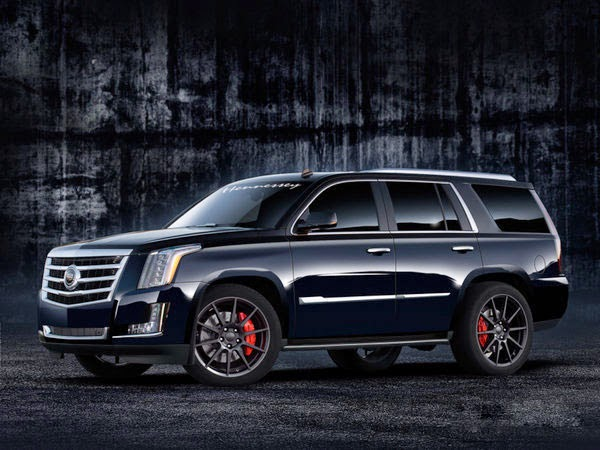 New 2015 Cadillac Escalade HPE550 SUV By Hennessey