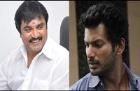 Sarathkumar and Vishal compete with each other in Helping others   Nadigar Sangam