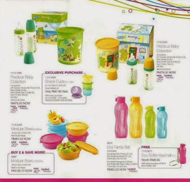 BABY COLLECTION TUPPERWARE MALAYSIA