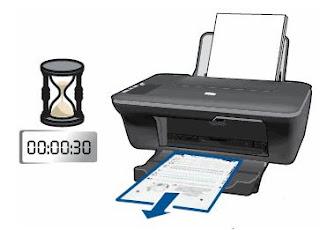 impresión de pagina de prueba
