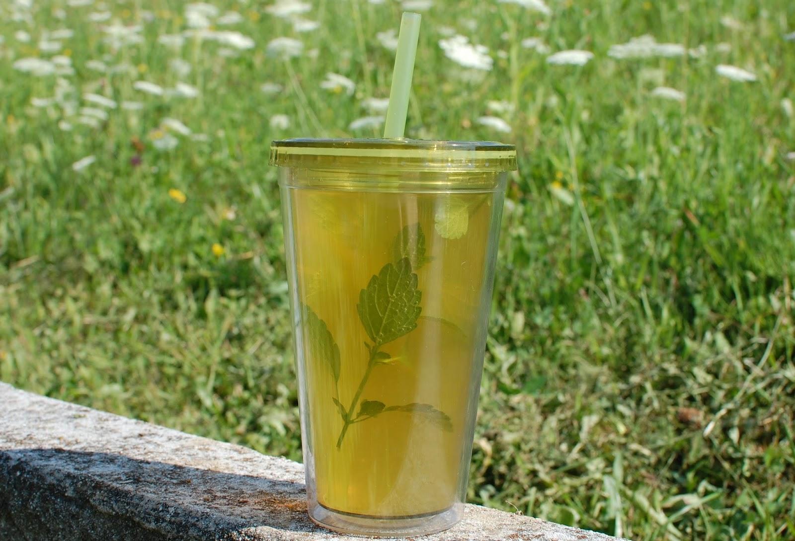Zeleni ledeni čaj