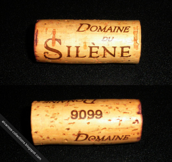 Wine cork: Domaine du Silene, 9099