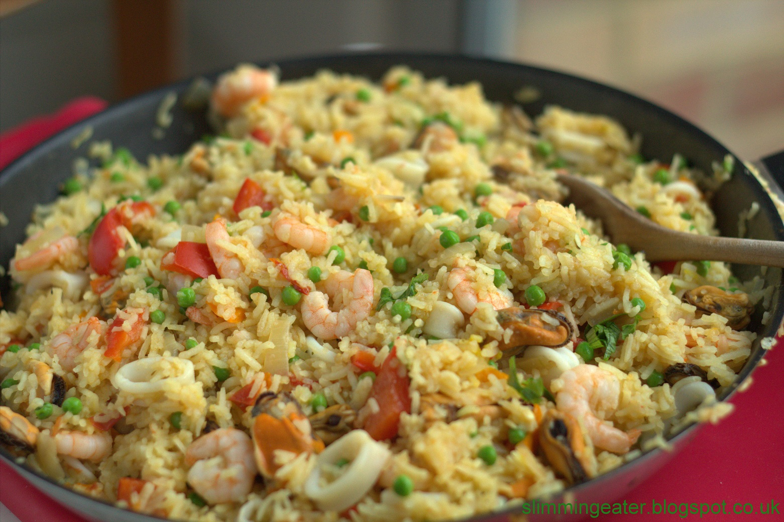 Slimmingeater the perfect paella Slimming world recipes for 1 person