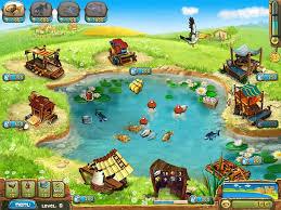 لعبة مزرعةالسمك