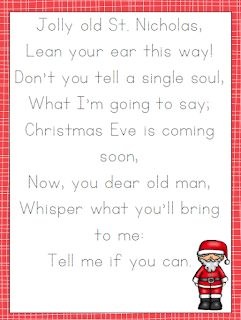 http://embarkonthejourney.com/free-christmas-carol-copywork-and-handwriting-pages/