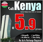 International calling Kenya, Calls to Kenya