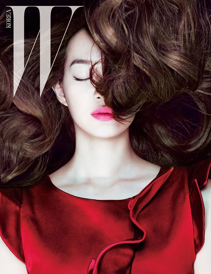 Shin Min Ah - W Magazine March Issue 2014