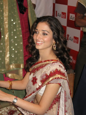 Tamanna at Airtel Super Singer Function Photos