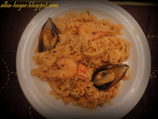 arroz a la marinera alba hogar