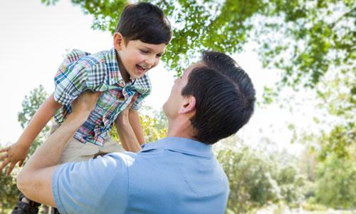 5 Secrets of Successful Single Dads,man carry child kid boy play with cuddling