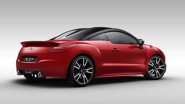Peugeot RCZ R rear side