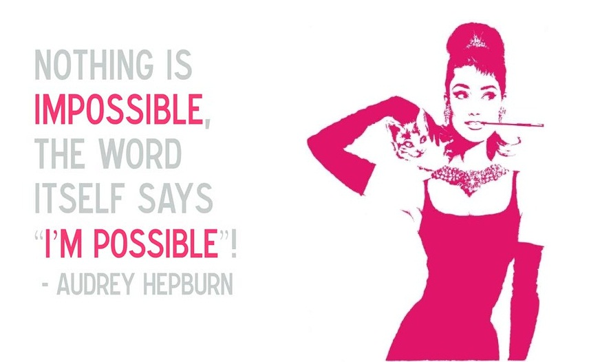 nothing impossible quotes marilyn is monroe behind i facebook audrey leave quotes as 2011 hepburn and