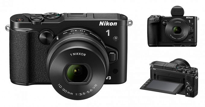 Nikon 1 V3, autofocus, Movie e-VR Stabilization, new mirrorless camera, Nueva cámara, Full HD video, conexión Wi-Fi,