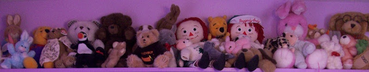 Sixteen Years of Stuffed Friends