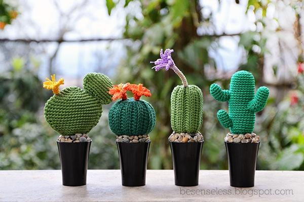 Amigurumi Que Es : El cactus amigu que es un amigurumi