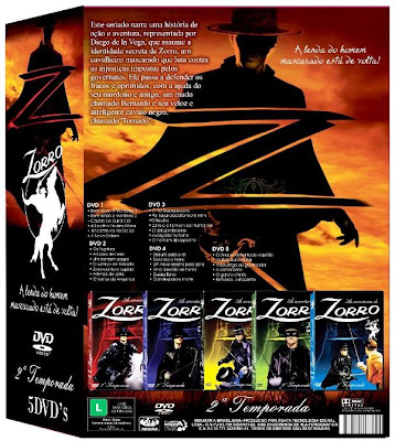 Download - Zorro (1958) - 2ª Temporada Completa DVD-R - Dublado