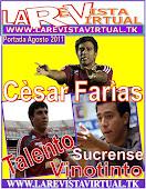 Portada Agosto 2011: Cèsar Farìas, Talento Sucrense,Vinotinto.!