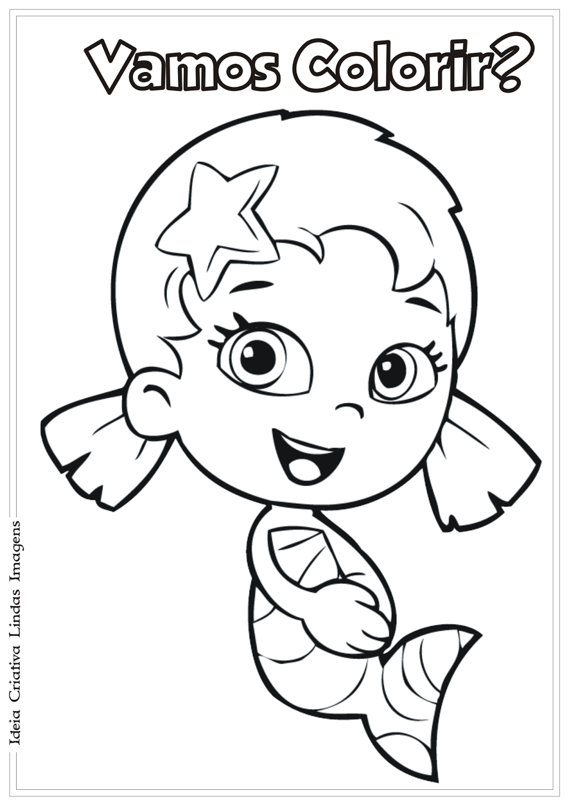 Halloween bubble guppies coloring pages