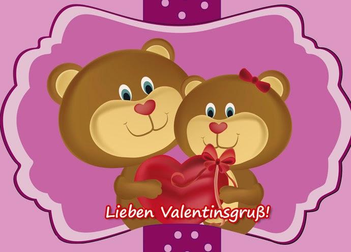 Valentinstag Gruß