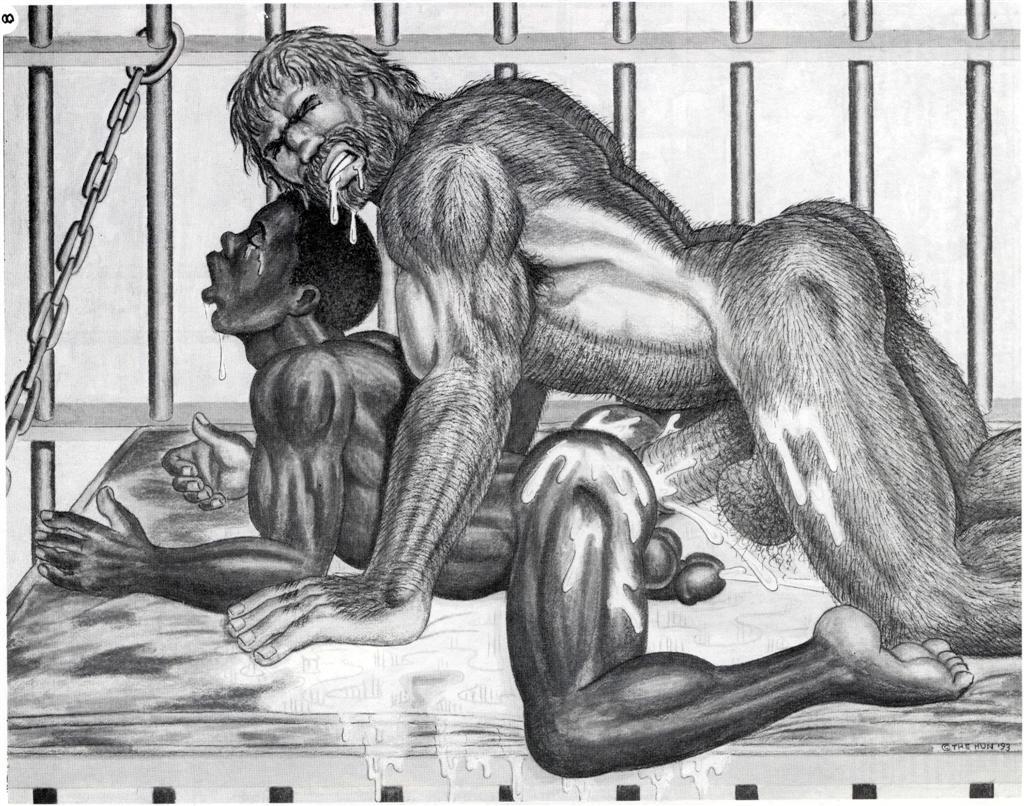 The hun and erotic art