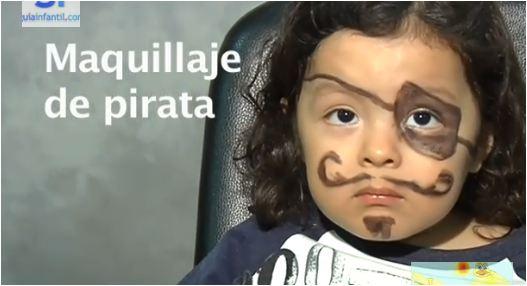 Search results for como hacer un poncho para el 25 de - Maquillaje pirata nina ...