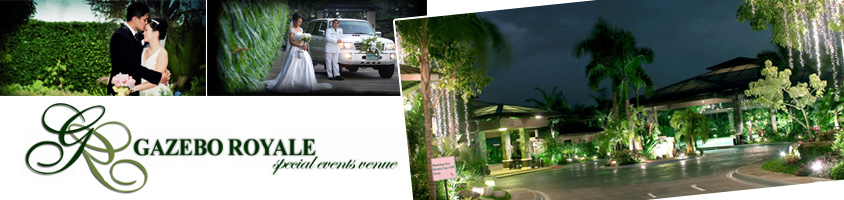 Gazebo Royale - Garden Wedding in Metro Manila