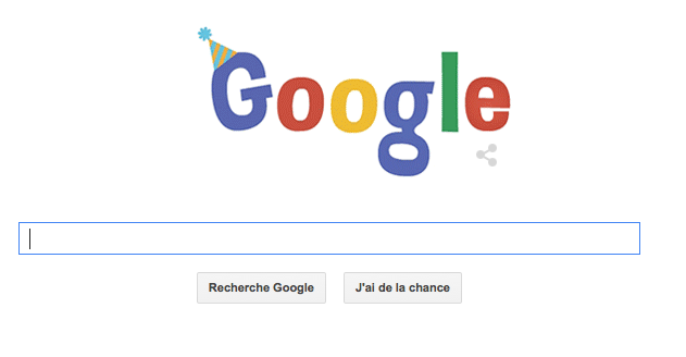 جوجل تحتفل بعيد ميلادها 16