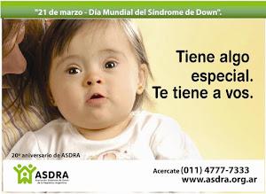 DÍA MUNDIAL DEL SÍNDROME DE DOWN - 21 de Marzo