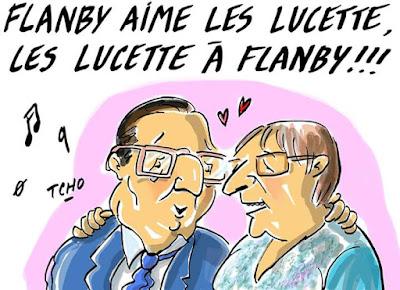 Coucou Lucette ! C'est Flamby.