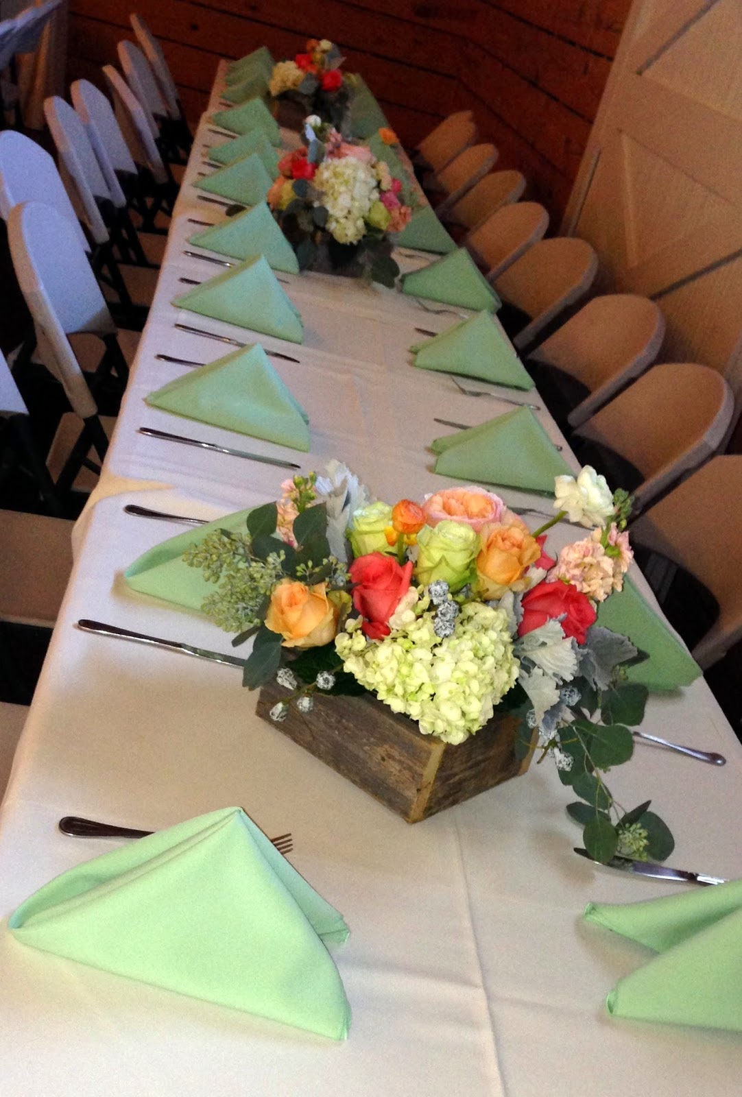 Mint Wedding, Frisco Heritage Depot, Culinary Art Catering