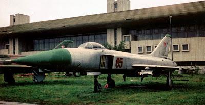 Перехватчик Су-15ТМ, Ходынское поле, Москва.