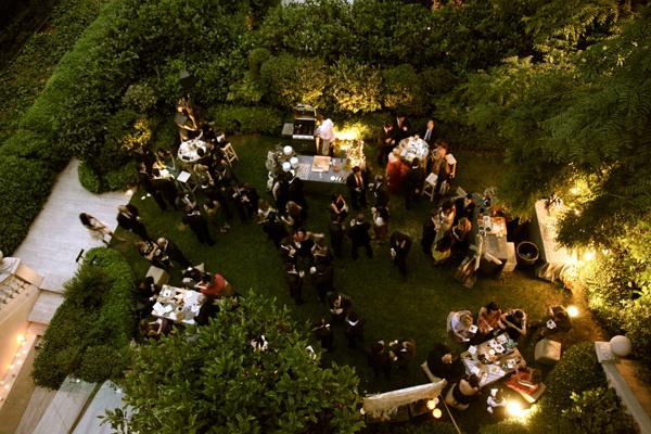 Tul y flores inspiraci n para tu boda una boda en un for Bodas en el jardin botanico