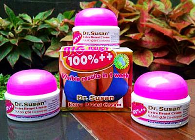 Cara membesarkan susu wanita dengan Produk Dr. Susan