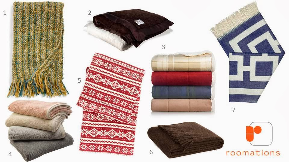 seven cozy throw blankets