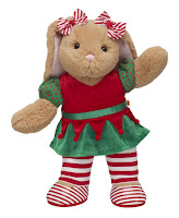 Build a bear holiday doll
