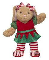Build a bear holiday doll