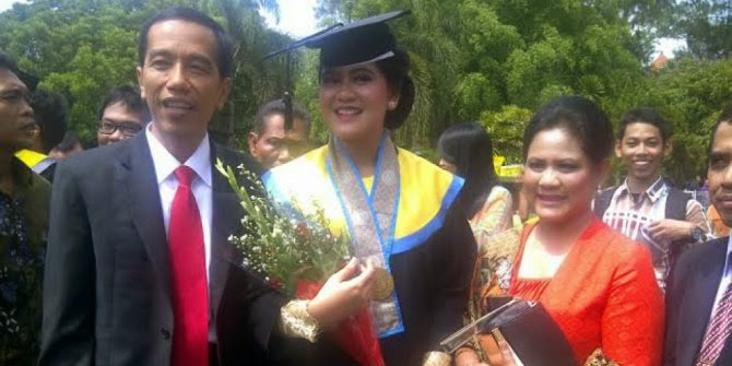 Kahiyang Ayu Putri Presiden Jokowi Ikuti Tes CPNS di Solo