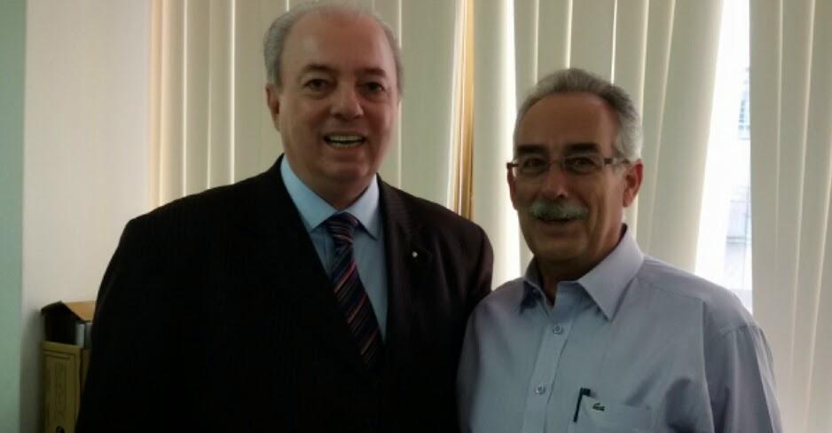 Nilo Sérgio Félix e Carlos Tucunduva: estado e município unidos pelo desenvolvimento do turismo