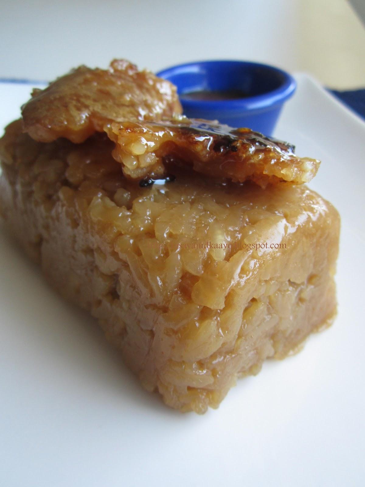 Inato lang Filipino Cuisine and More: BIKO (SWEET RICE