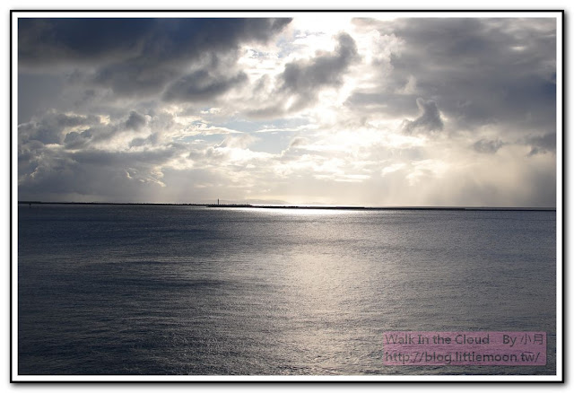 漂亮的陽光與海面