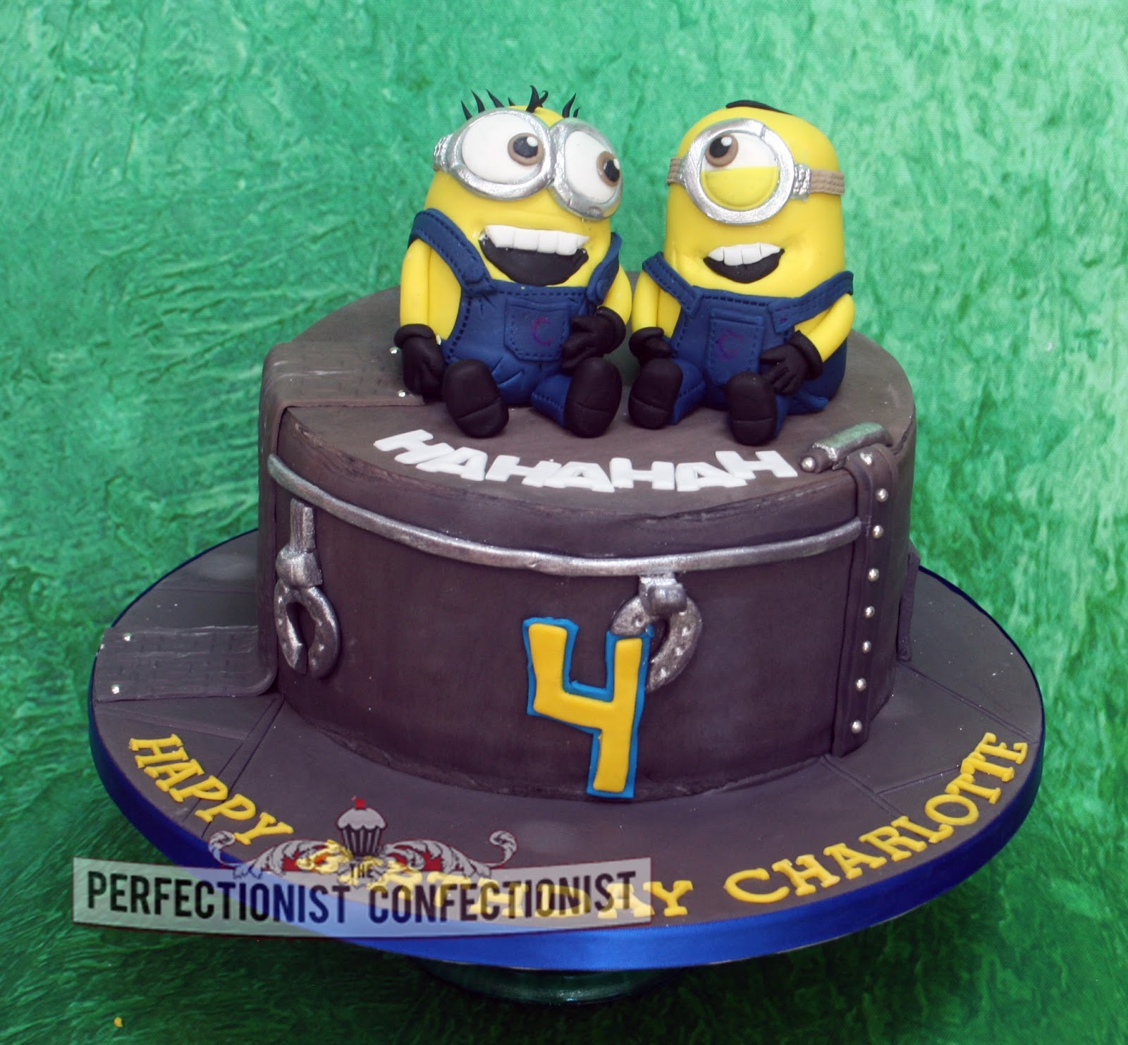 The Perfectionist Confectionist Charlotte Minion Birthday Cake
