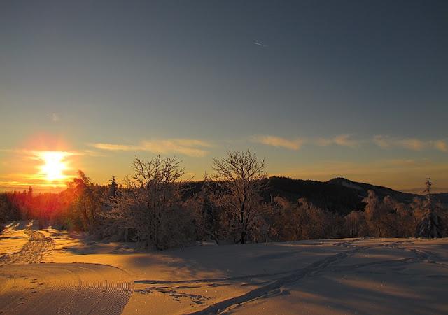 Zimowy poranek na Soszowie Wielkim [www.gorskiewedrowki.blogspot.com]