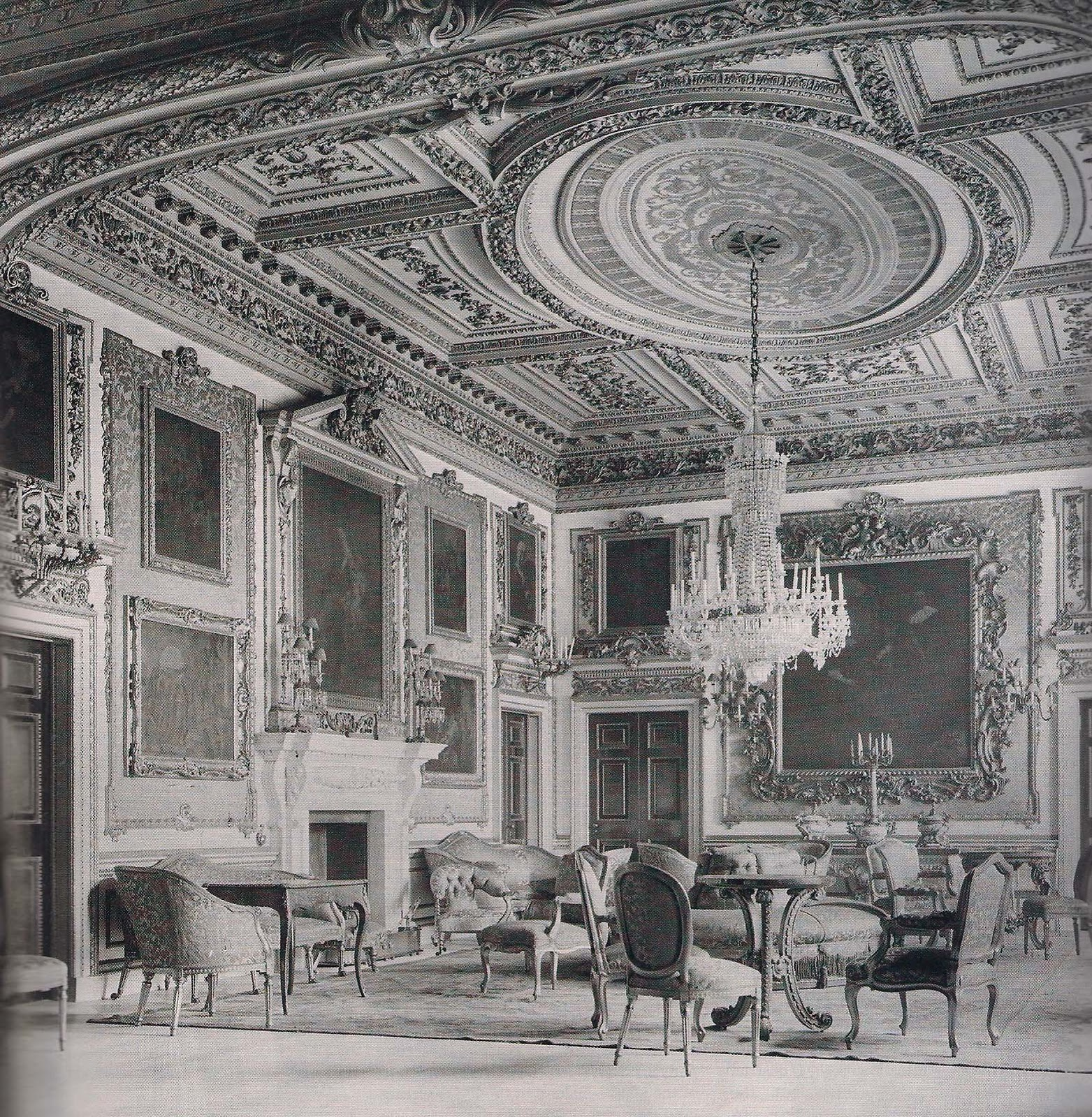 The devoted classicist the duke of devonshire 39 s lost for Mansion floor plans with ballroom
