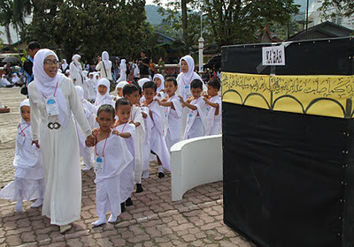 Manasik Haji TK/RA/BA se Kecamatan Pulaulaut Utara