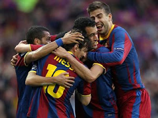 اهداف مباراة برشلونة ومانشستر يونايتد 3-1