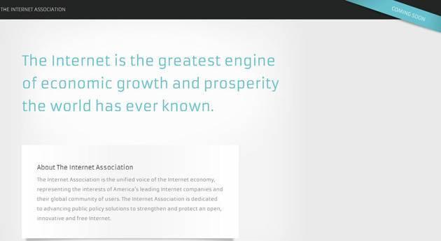 Site da The Internet Association