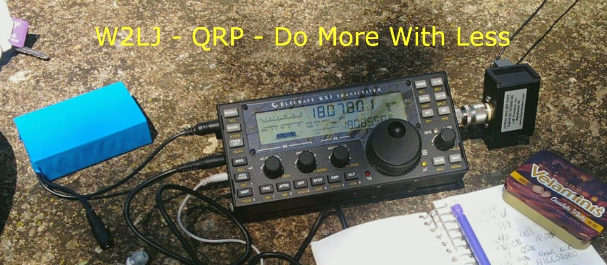 W2LJ's Blog - QRP - Do More With Less.