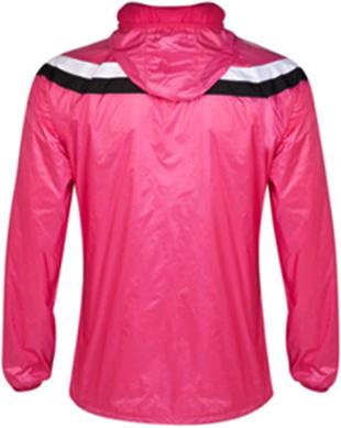 Jaket Parasut Waterproof Real Madrid Pink 14-15