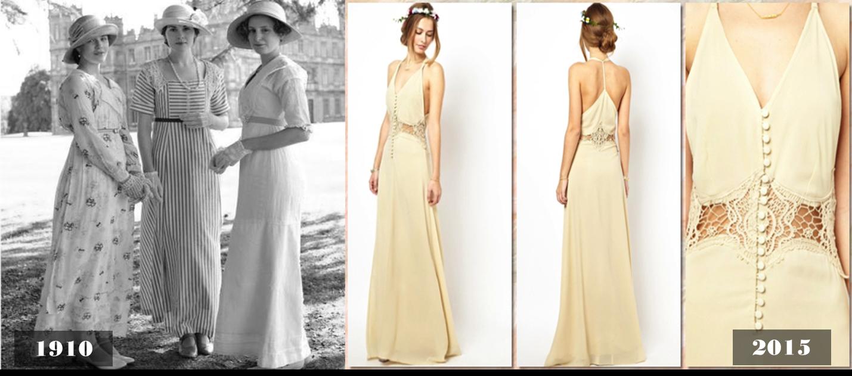 Vestidos usados modernos